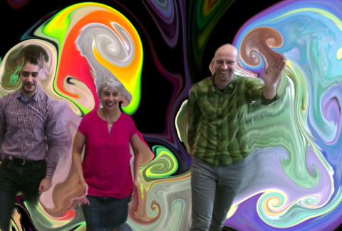 flow exhibit: psychedelic flow